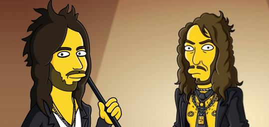 Russell Brand As Simpsons Cartoon