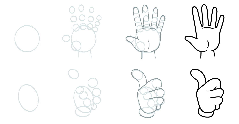 How to draw a cartoon fist mela hubiera