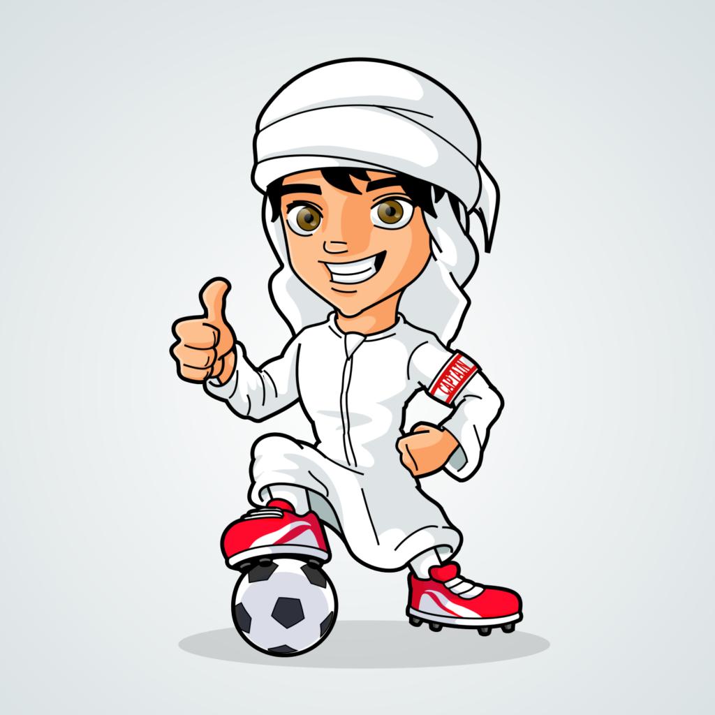 Arab Cartoon Character
