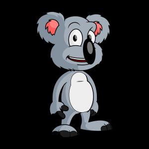cartoon koala bear vector clip art free