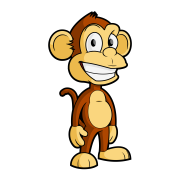 Free Cartoon Monkey Vector Clip Art