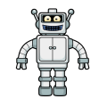 FREE Cartoon Robot Vector