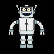 Cartoon Robot Free Vector