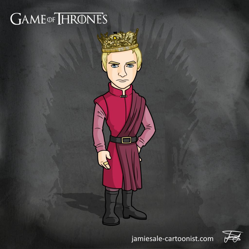 Joffrey Cartoon Game of Thrones