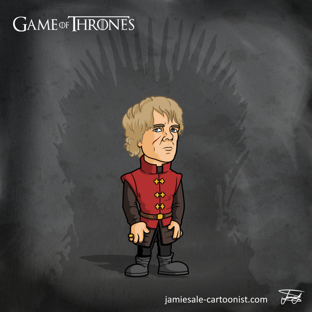 Tyrion Lannister Cartoon Game of Thrones