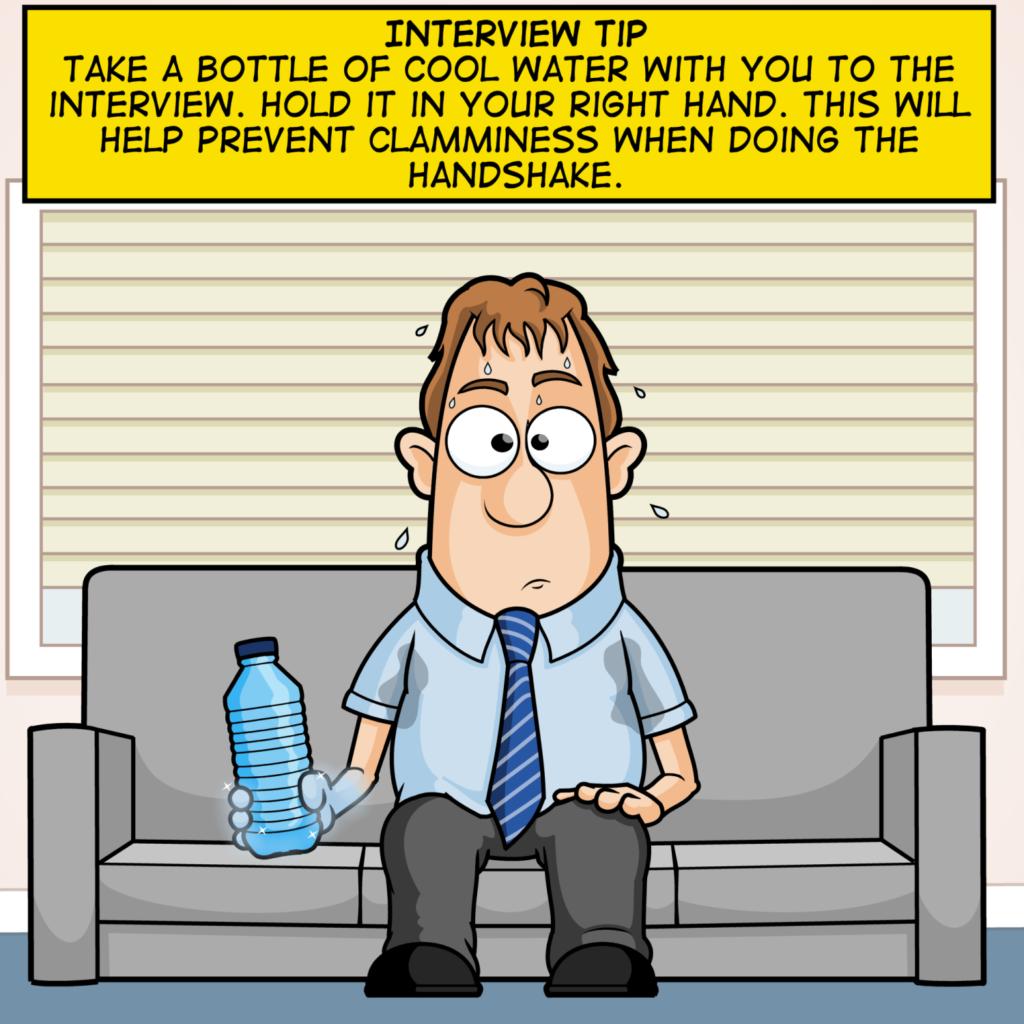 Interview Tip Cartoon