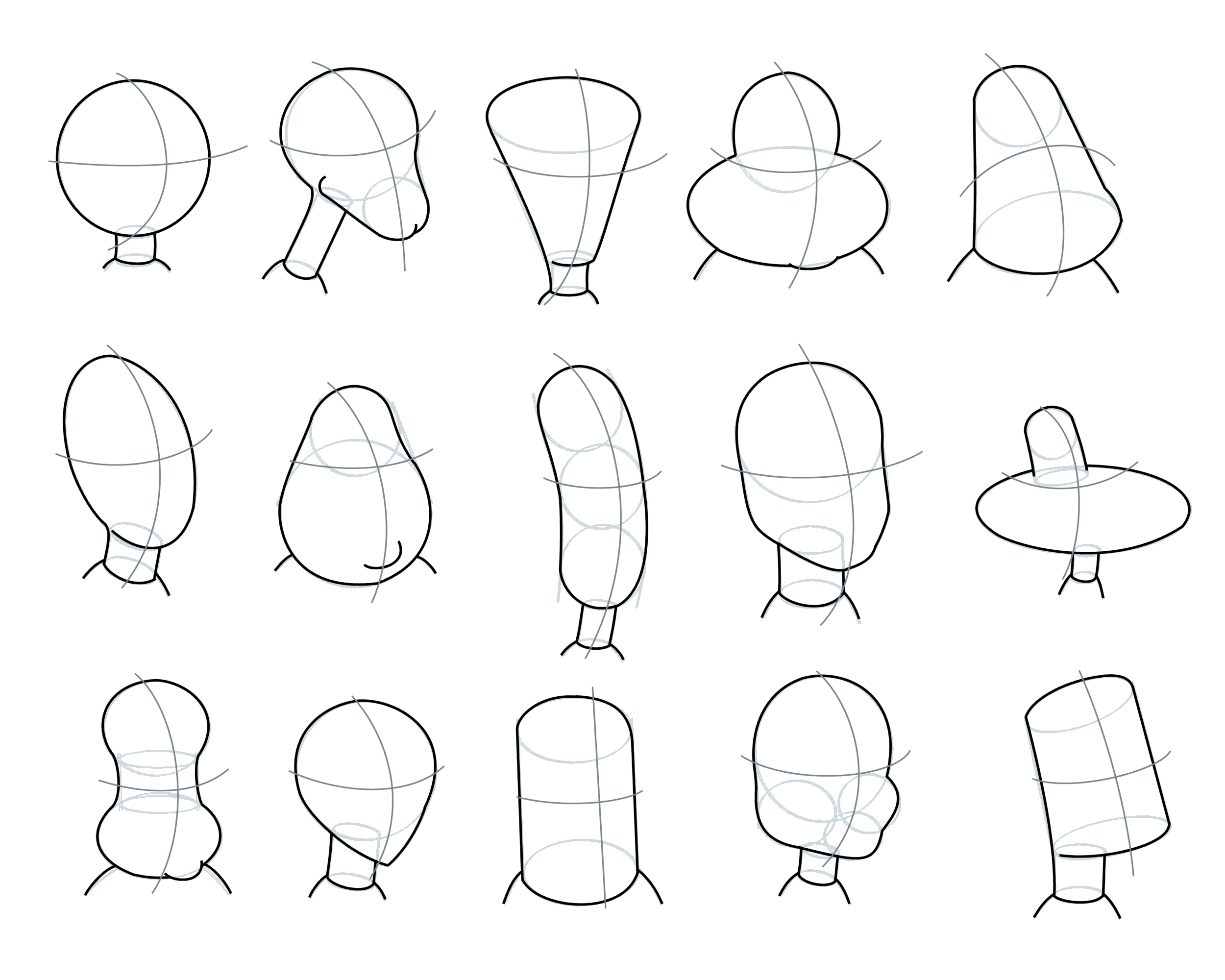 how to draw a caricature of a person