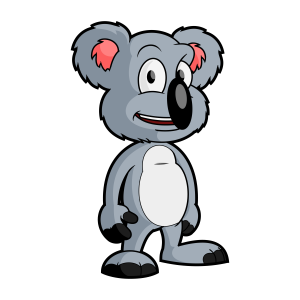 cartoon koala bear vector clip art free