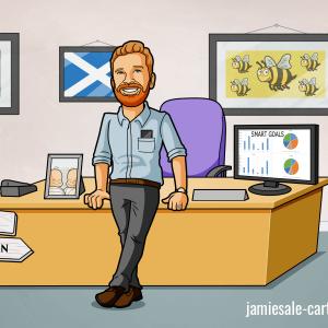 business-caricature