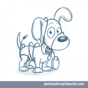 dog-cartoon-sketch