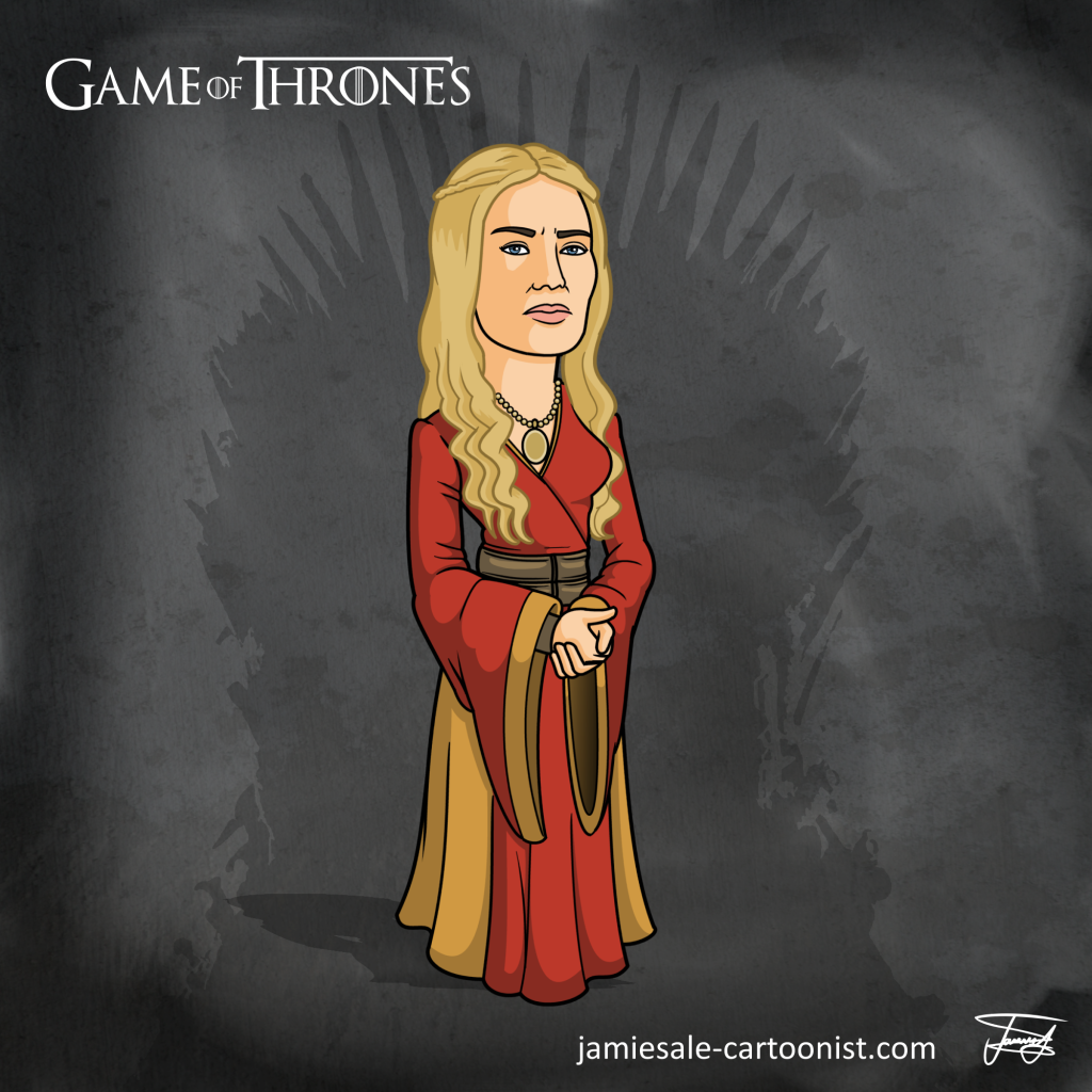 Cersei Lannister Cartoon