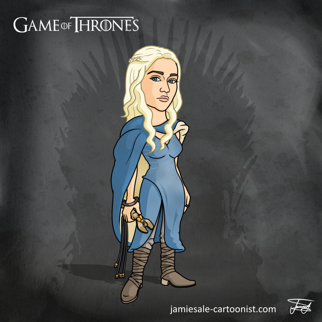 Daenerys Targaryen Cartoon