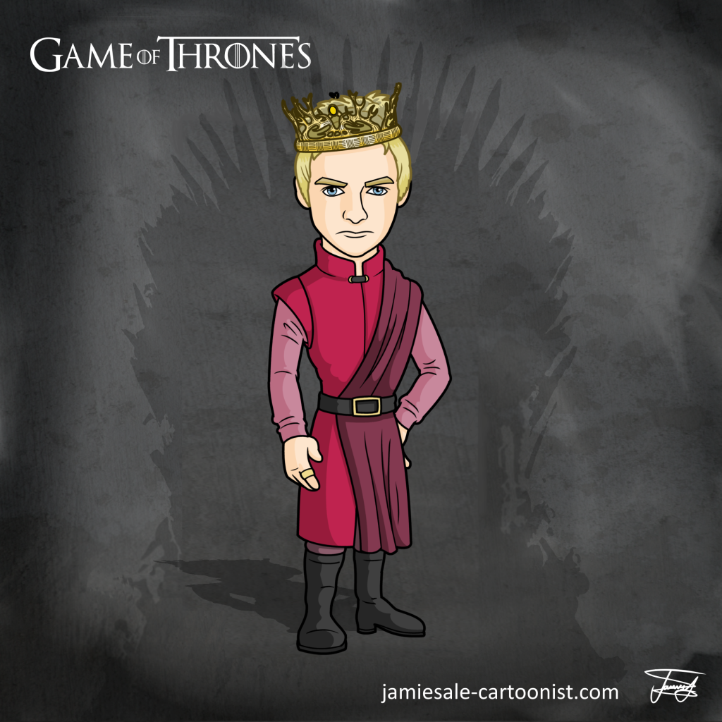 Joffrey Baratheon Cartoon