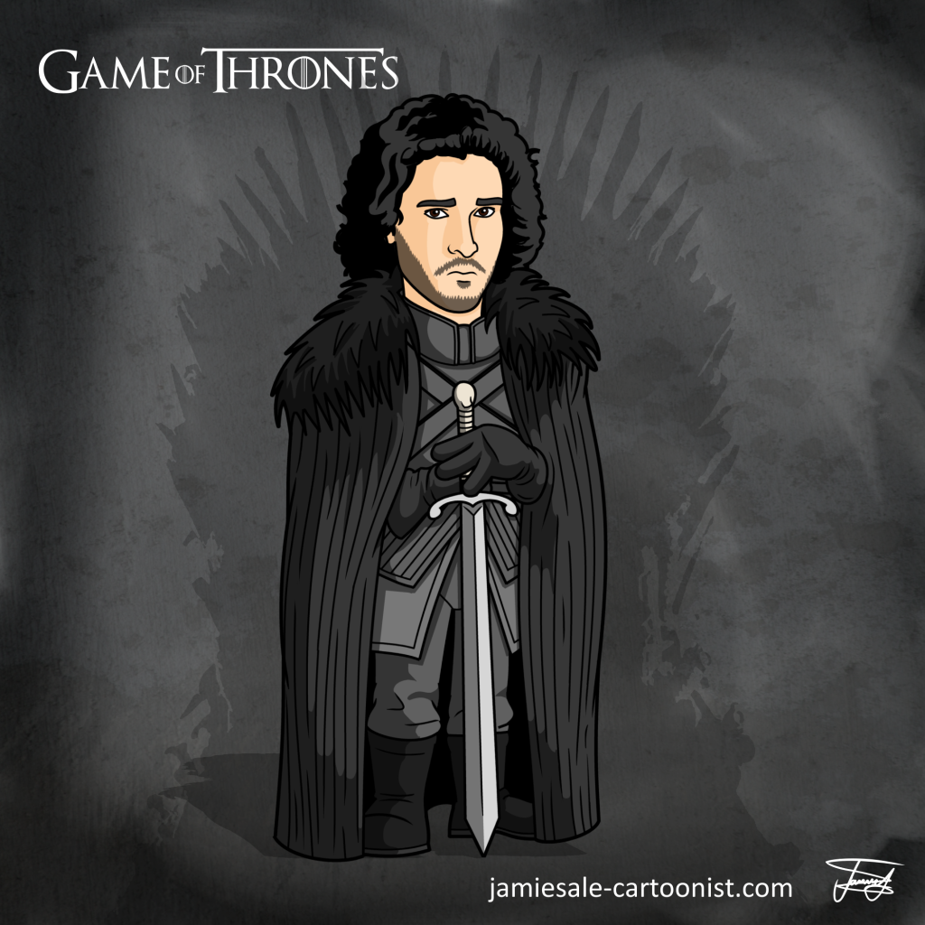 Jon Snow Cartoon