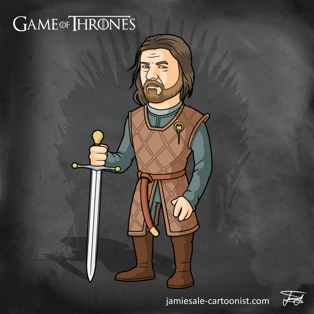Ned Stark Cartoon