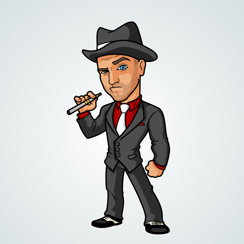 Cartoon Characters Gangster : Portfolio update