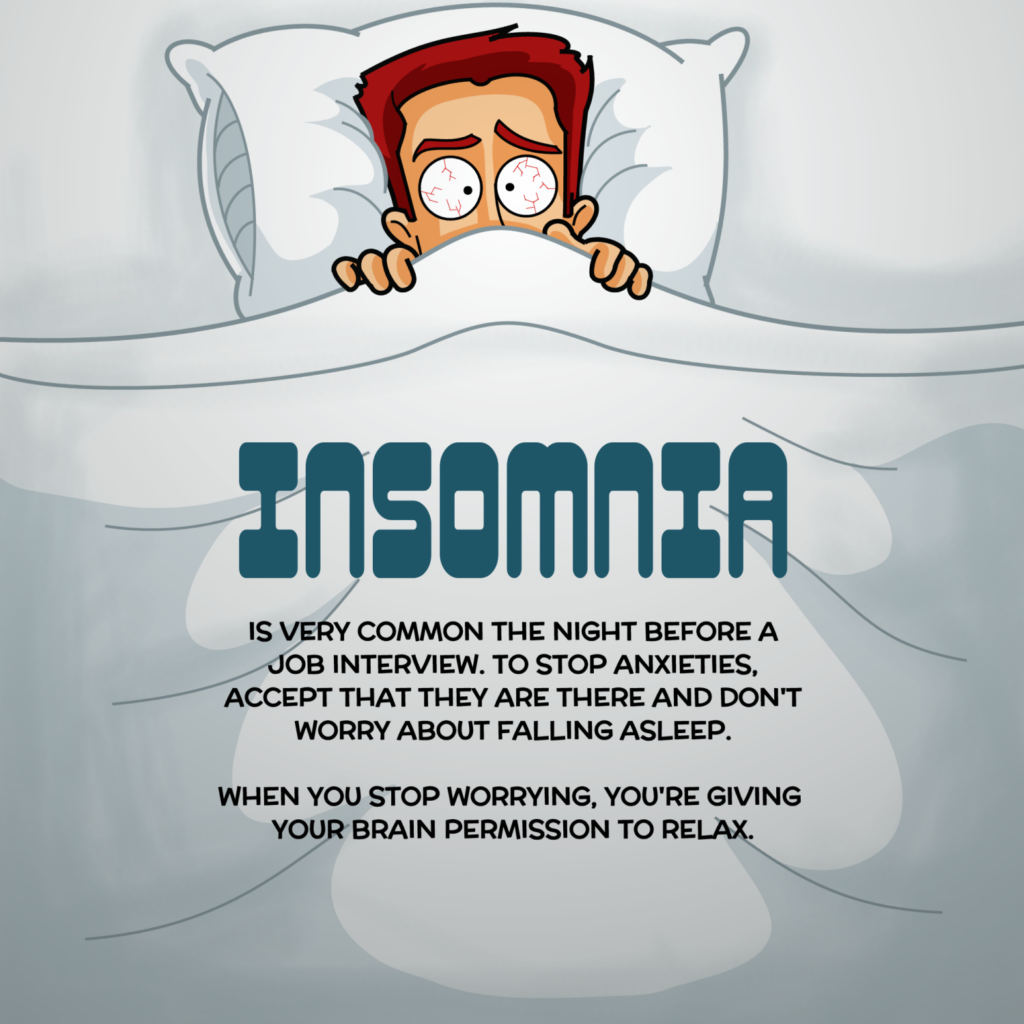 Insomnia Motivational Cartoon
