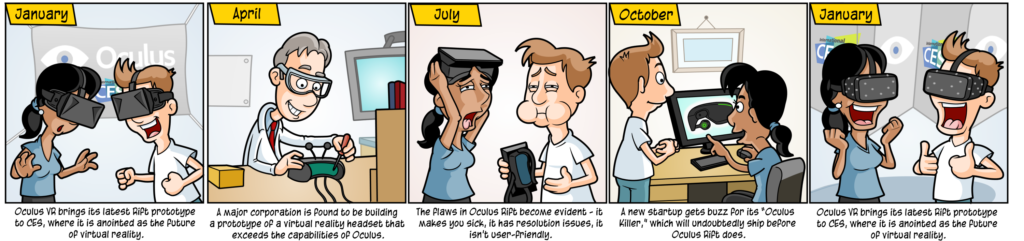 Oculus Rift Comic Strip