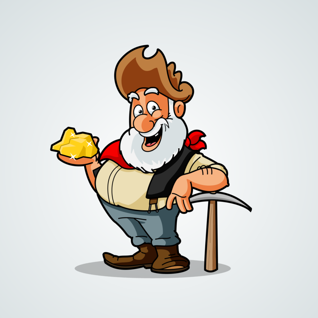 Prospector Cartoon Character