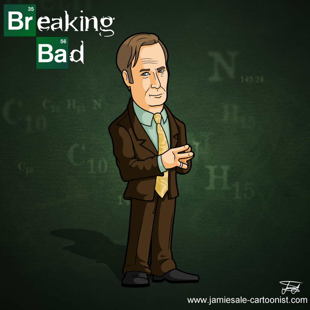 breaking bad saul goodman cartoon character